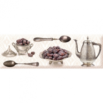 Absolut Keramika Brilliant Crockery silver Декор