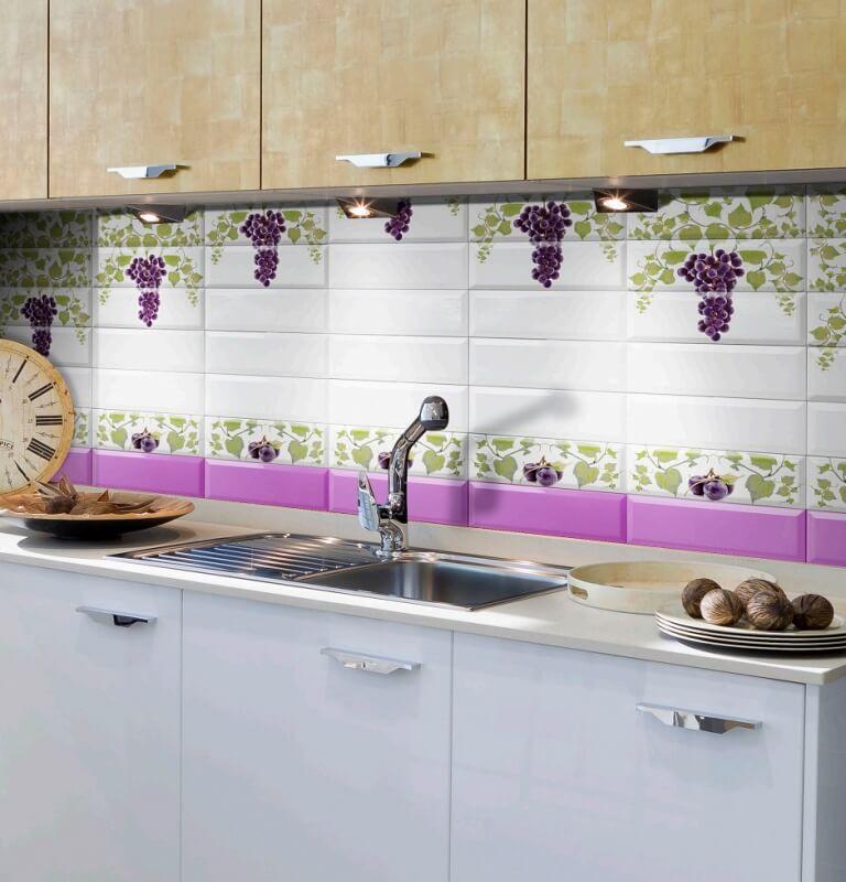 Плитка виноградная лоза в интерьере