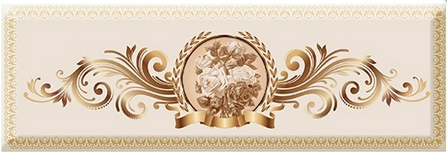 Absolut Keramika Medallion Decor  Flower 03