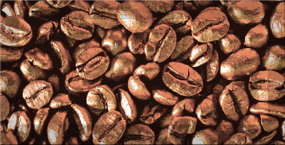 Absolut Keramika Monocolors Decor Coffee Beans 03 декор