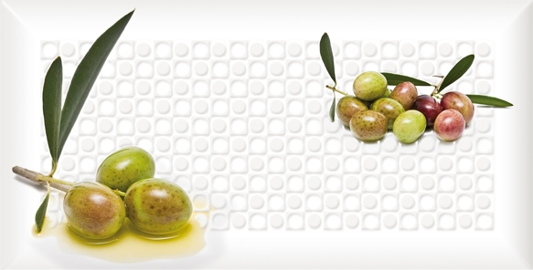 Absolut Keramika Monocolors Decor Olives 05 C