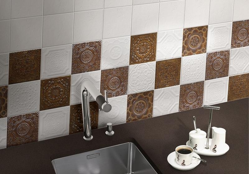 Плитка маленького формата для кухни и ванной